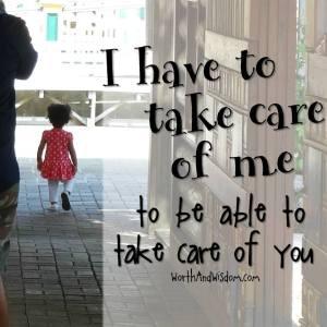 ta vare på deg selv først